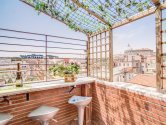 Rome holiday apartments: Holiday-apartment-Rome-Vatican-Borgo-Pio-Terrace