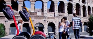 vacanze Roma - Tour Segway Roma in monopattino...