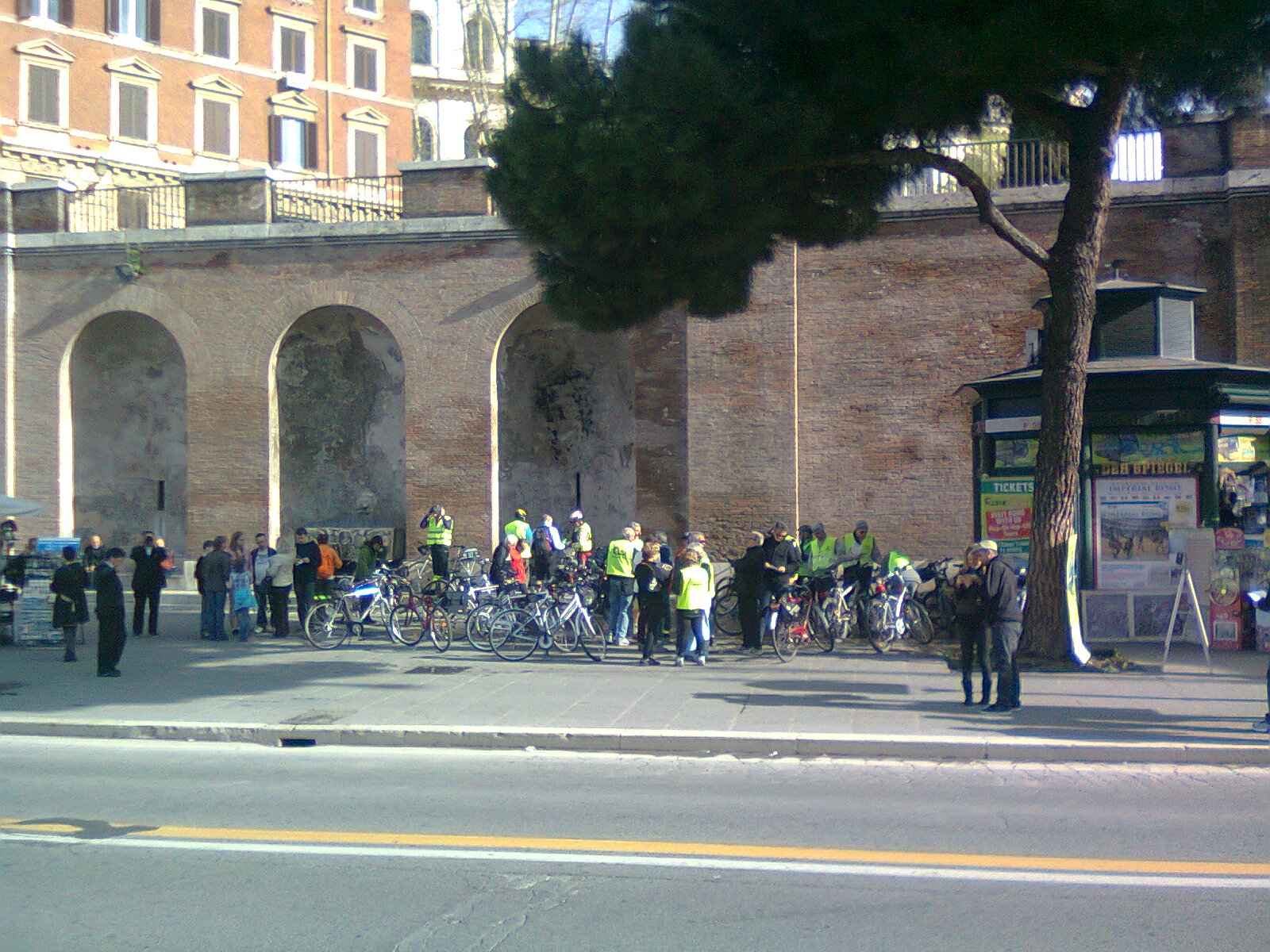 Holiday Rome Guided Tour Rome by bike